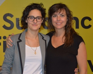 Sophie Deraspe and Sandra Bagaria