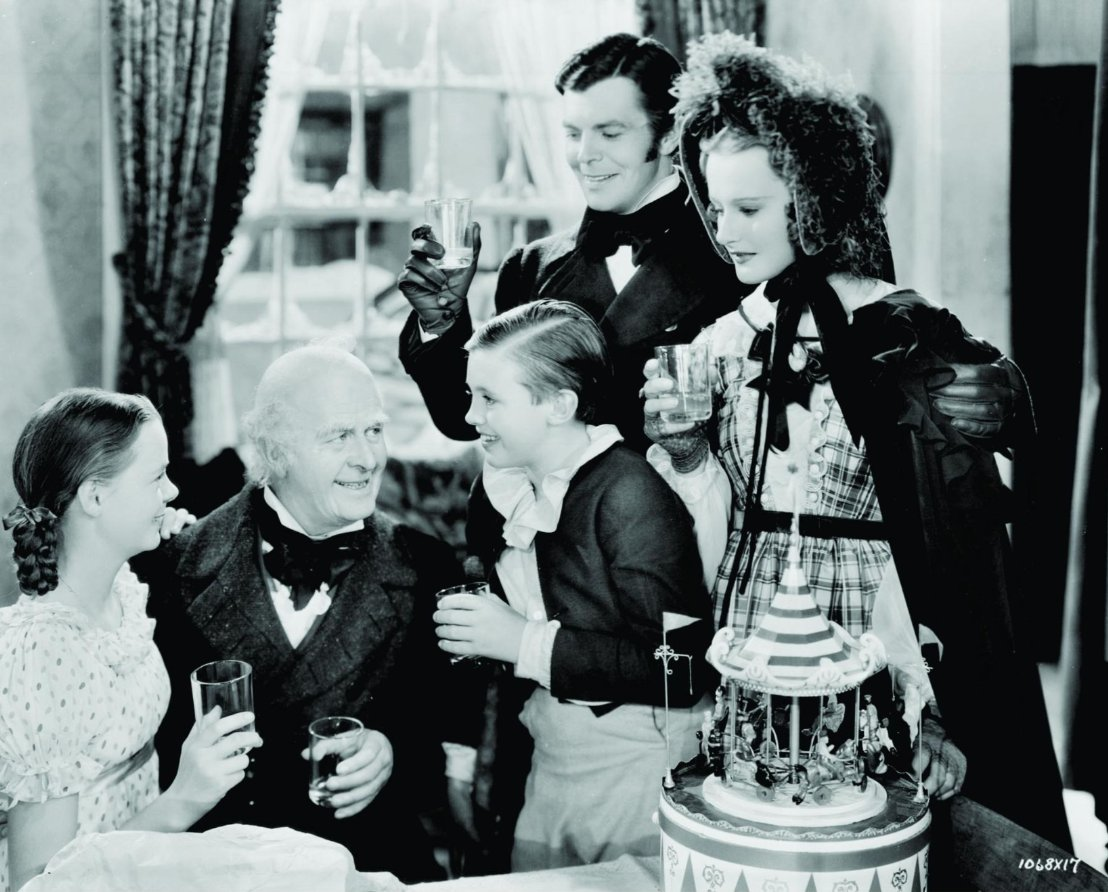 """Film Review: """"A Christmas Carol"""" (1938) ★★★★ – let the movie move us"""
