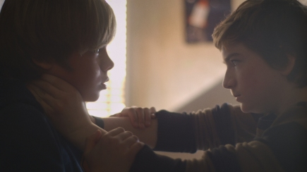 Winter Hymns | Left to right: Joshua (Sam Ashe Arnold), Kane (Kyle Peacock), courtesy Inflo Films