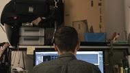 Frame 394 - Daniel Voshart working at his desk