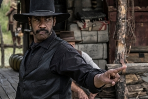 Denzel Washington stars in MGM and Columbia Pictures' THE MAGNIFICENT SEVEN.