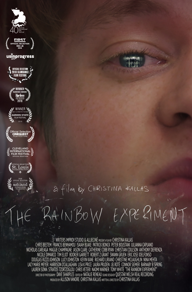 "Gravitas Ventures to Release Christina Kallas' Award-Winning Ensemble Film - ""The Rainbow Experiment"""