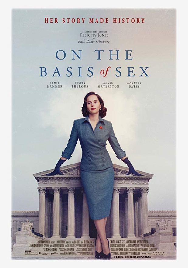"""Film Review: """"On the Basis of Sex"""" (2018) – let the movie move us"""
