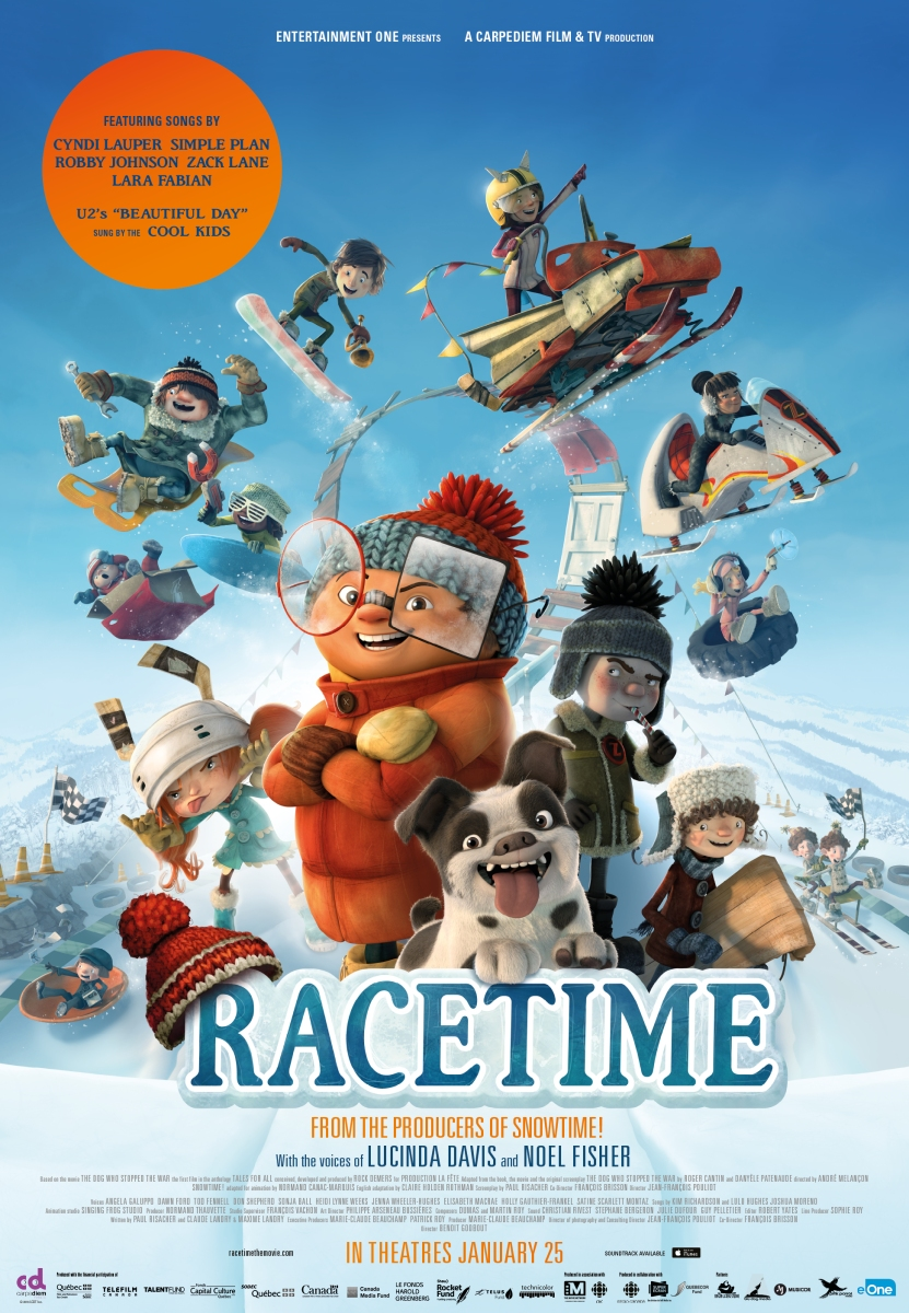 """Film Review: """"Racetime"""" (2018) ★★★"""