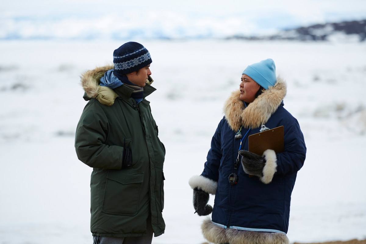 "TIFF 2018 Interview: Emerald MacDonald and Paul Nutarariaq Talk ""The Grizzlies"""