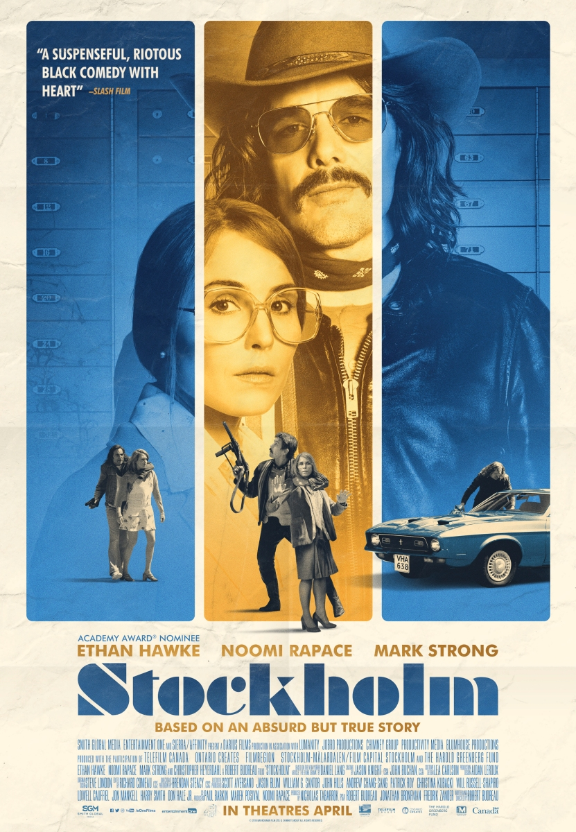 "Film Review: ""Stockholm"" (2018) ★★★★"